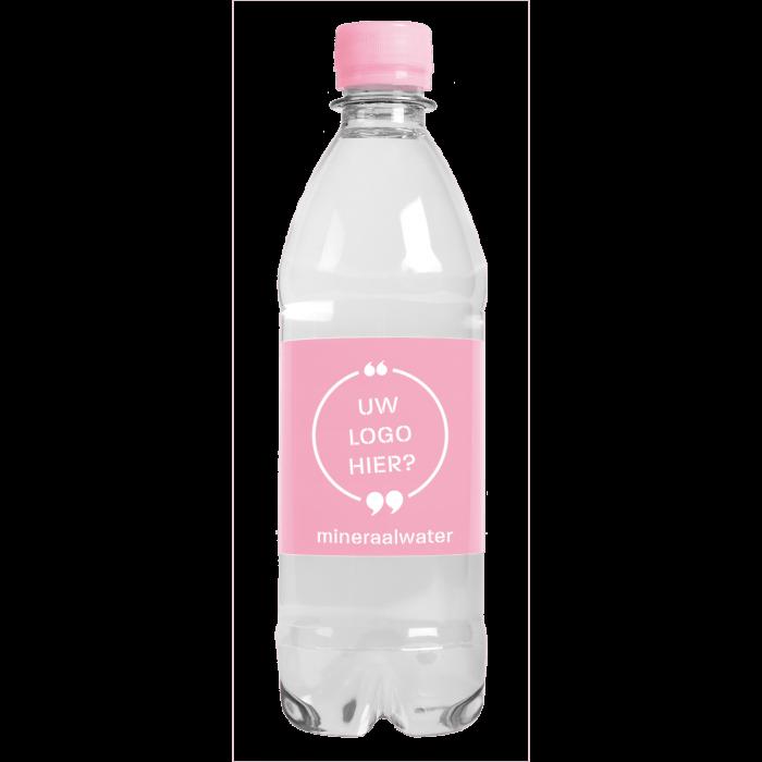 Bouteille d'eau | 500 ml | Eau gazeuze | 435000pd Rose