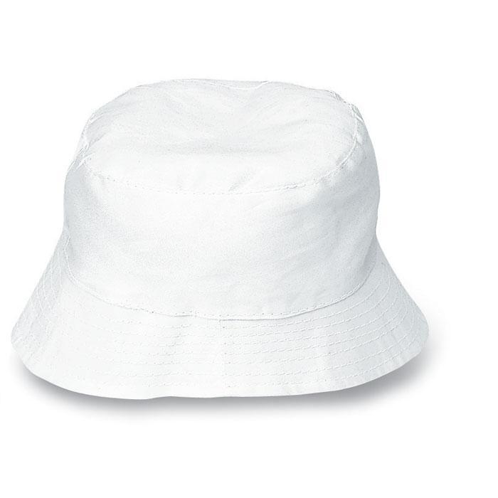 Chapeau Bob blanc personnalisé   8751350 Blanc