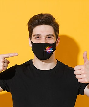 Masques tissu personnalisés