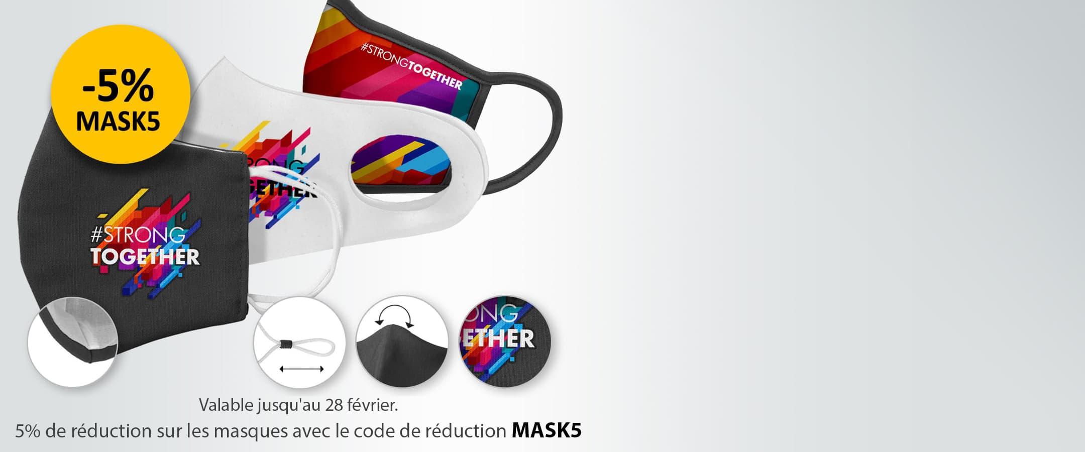 Masques personnalisés Maxilia