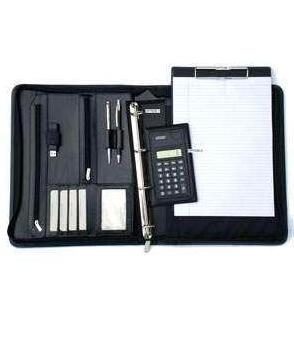 Conférencier personnalisé A4 avec calculatrice