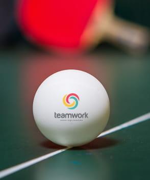 balle de ping pong personnalisée