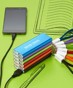 batterie externe personnalisable en livraison rapide