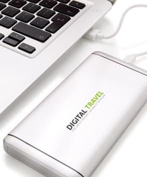 batterie externe personnalisable luxe