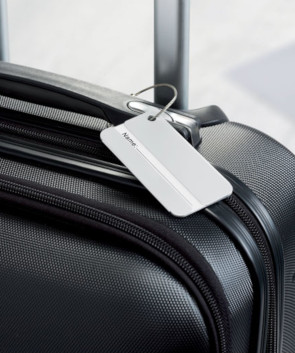Etiquette de bagages personnalisée