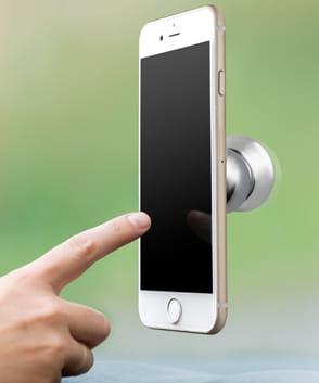 Gadget personnalisé pour téléphone