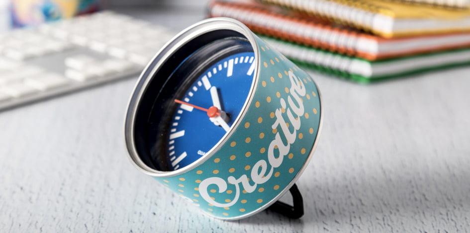 Horloge publicitaire meilleure vente maxilia