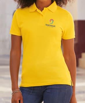 polo personnalisé femme